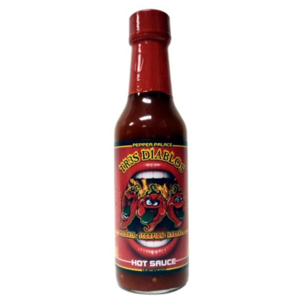 Pepper Palace Tr3s Diablos Hot Sauce