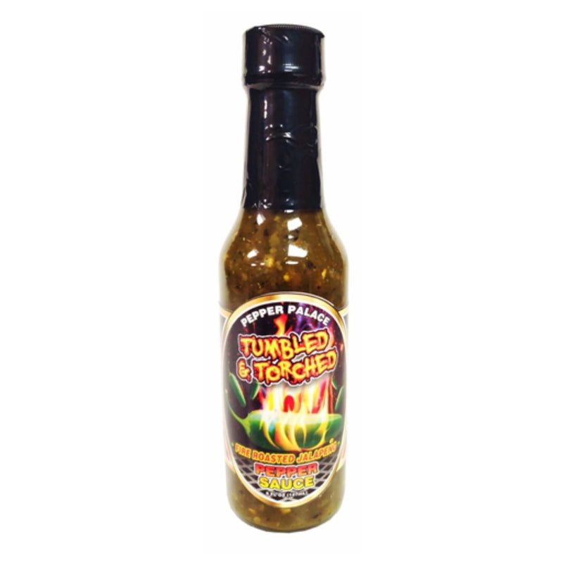 Pepper Palace Tumbled & Torched Fire Roasted Jalapeno Hot Sauce