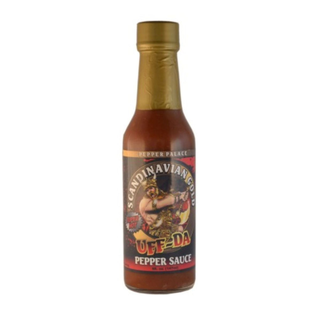 Pepper Palace Uff Da Scandinavian Gold Hot Sauce
