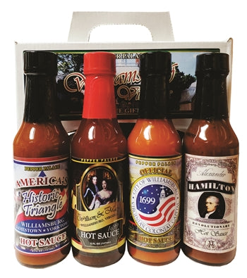 Pepper Palace Williamsburg Virginia Hot Sauce Gift Pack