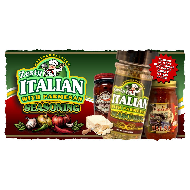 Zesty Italian with Parmesan Seasoning