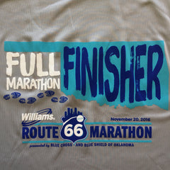 2016 Route 66 Finisher Shirts - Free Shipping!