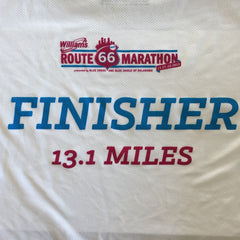 2015 Route 66 Finisher Shirts - AVAILABLE AT EXPO AND FINISH LINE!