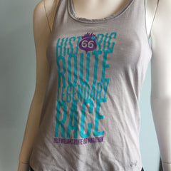 2016 Williams Route 66 Marathon - Women's Under Armour Streaker Tank - Grey 1271522-025RT66