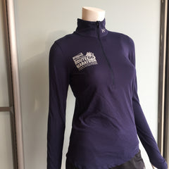 2016 Williams Route 66 Marathon - Women's Under Armour Streaker Half Zip - Navy 1271525-410RT66