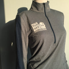 2016 Williams Route 66 Marathon - Women's Under Armour Streaker Half Zip - Teal 1271525-861RT66