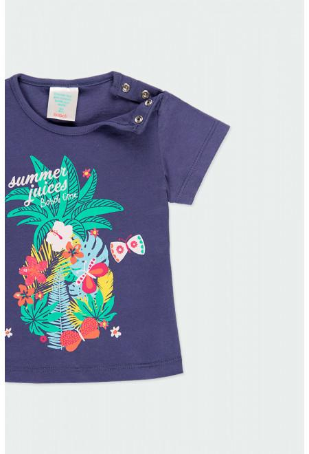 Floral Pineapple T-Shirt - Stable Lane Boutique