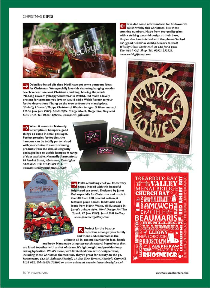 Welsh Country Magazine Feature