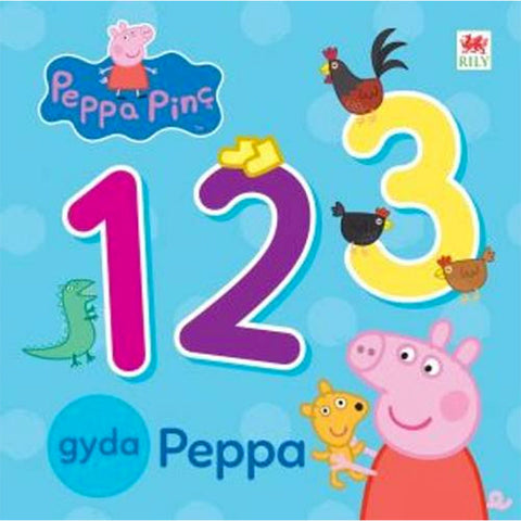 Peppa Pinc: 1 2 3 gyda Peppa - 1 2 3 with Peppa Pig