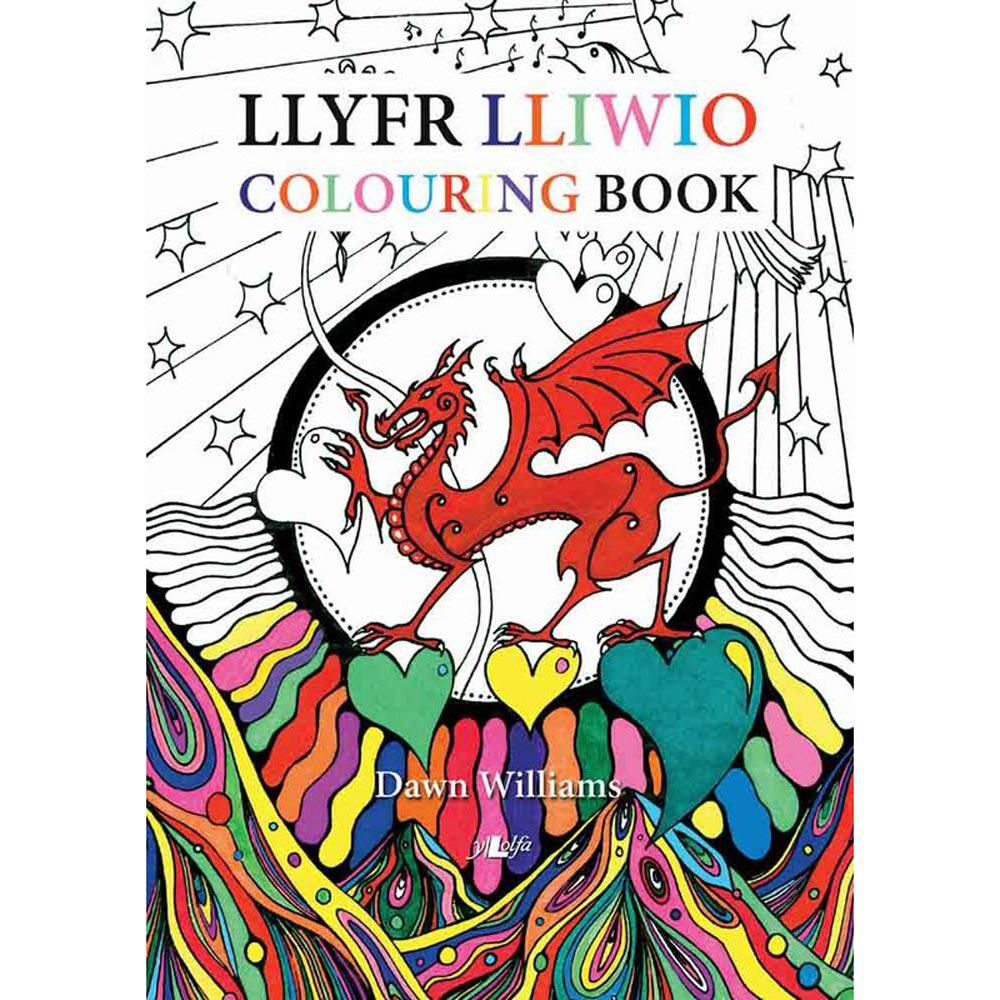 Lliwio Cymru / Colouring Wales - Dawn Williams-Book-The Welsh Gift Shop