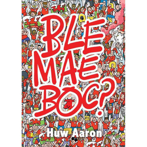 Ble Mae Boc? Find the Dragon - Huw Aaron - Welsh Language