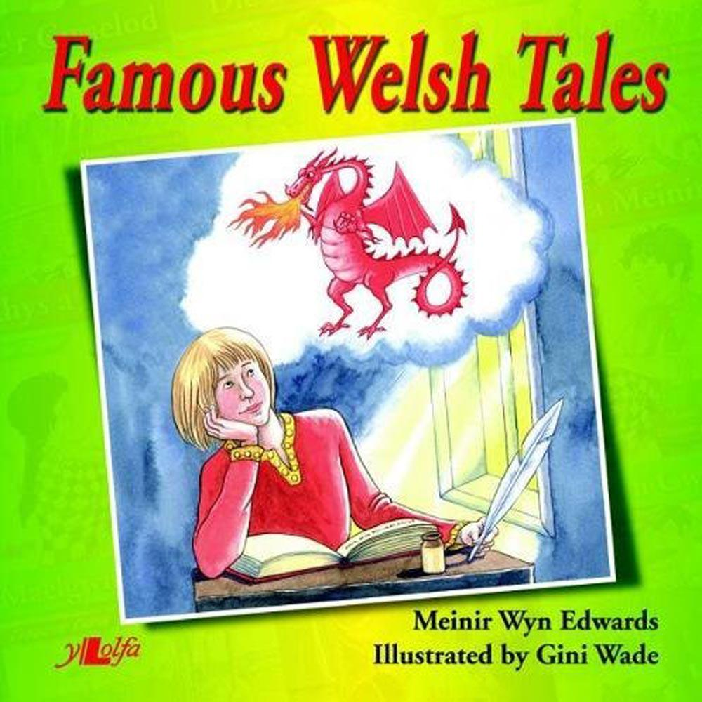 Famous Welsh Tales - Meinir Wyn Edwards-Book-The Welsh Gift Shop