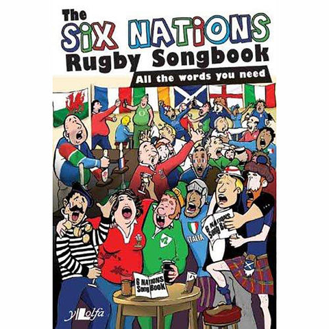 The Six Nations Rugby Songbook-Book-The Welsh Gift Shop
