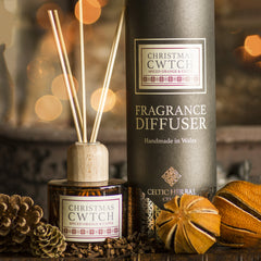 Reed Diffuser - Christmas Cwtch - Spiced Orange & Clove-The Welsh Gift Shop