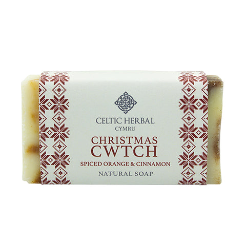 Soap - Christmas Cwtch - Spiced Orange & Cinnamon