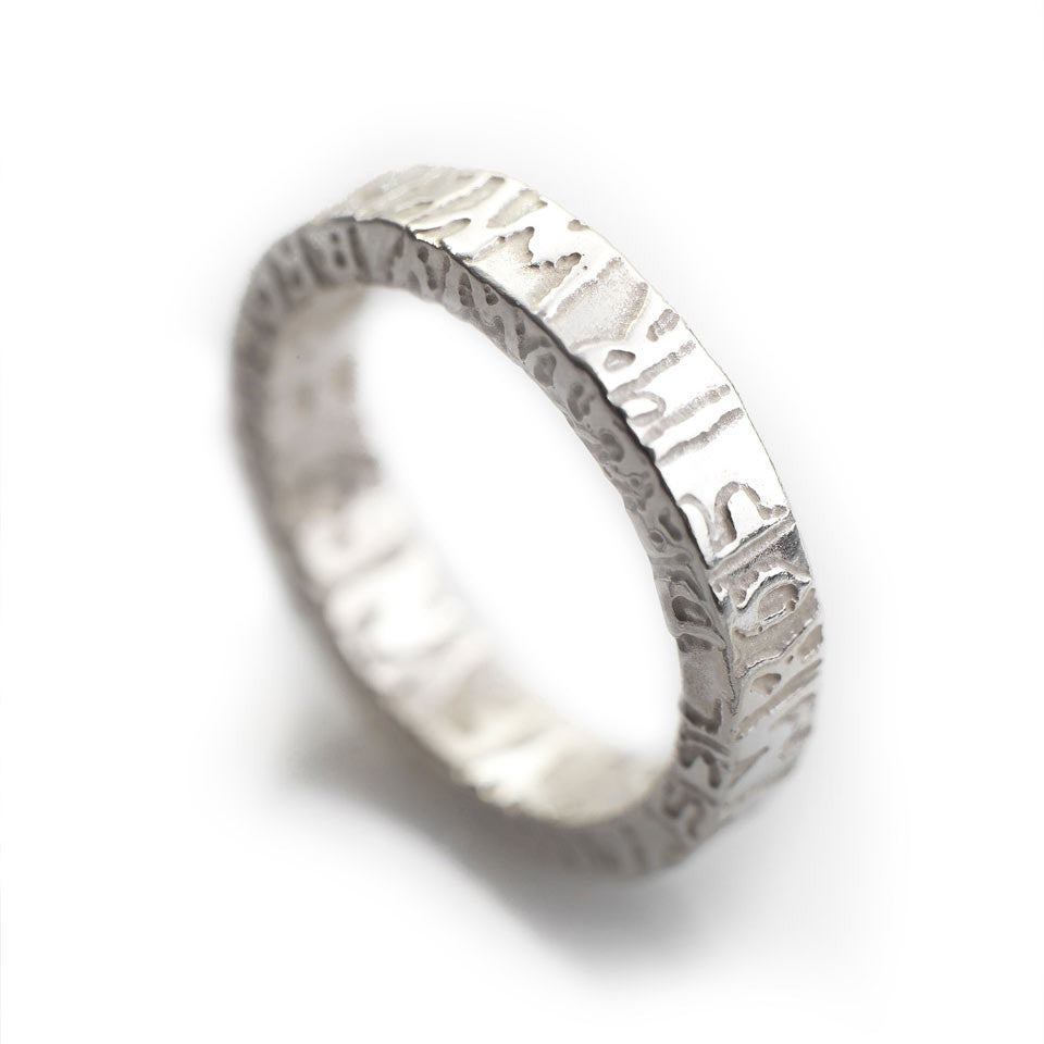Ring - Silver - Cofio - Remember-Jewellery-The Welsh Gift Shop