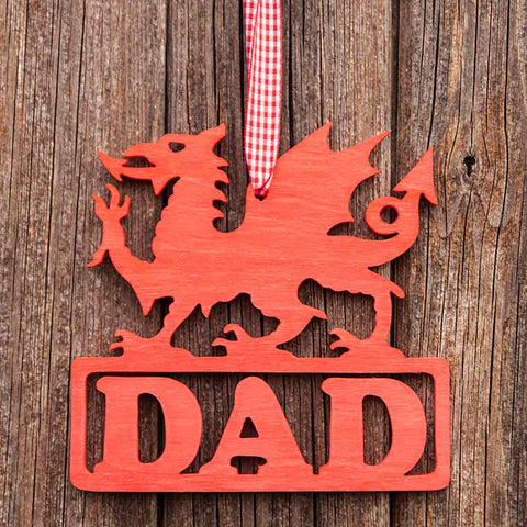 Decoration / Plaque - Dragon - Dad