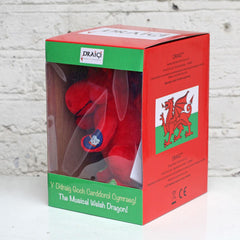 Toy - Draigi - Singing Welsh Dragon