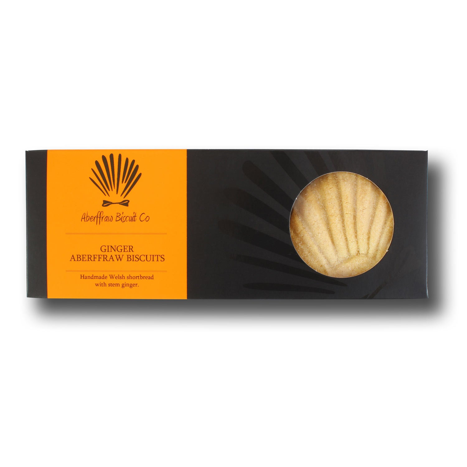 Gift Box - Traditional Aberffraw Biscuits - Ginger