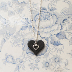 Necklace - Welsh Slate -  'Sioned'