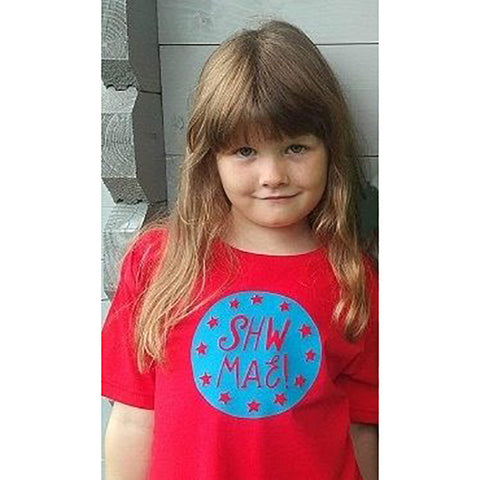 T-shirt - Children's - Shw Mae!-T-shirt-The Welsh Gift Shop