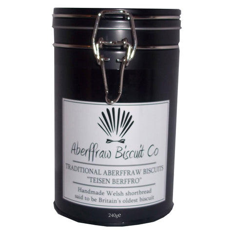 Gift Tin - Traditional Aberffraw Biscuit - 240g