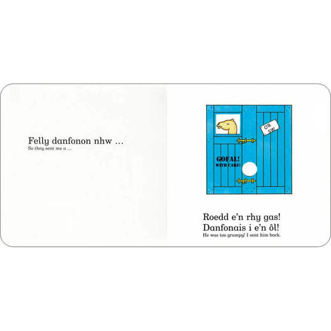 Annwyl Sw - Dear Zoo - Rod Campbell - Mini Board Book-The Welsh Gift Shop