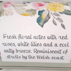 Candle - Welsh Song - Ar Hyd Y Nos-The Welsh Gift Shop