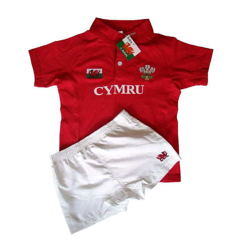 Welsh Rugby Kit - Cymru - Child-The Welsh Gift Shop