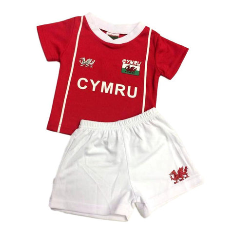 Welsh Football Kit - Cymru - Baby-The Welsh Gift Shop