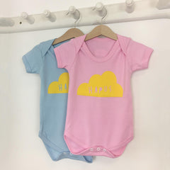 Babygrow - Happy - Hapus - Blue / Pink