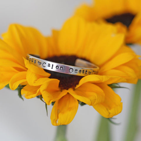 Bangle - Calon Hapus, Calon Onest, Calon Lân-Jewellery-The Welsh Gift Shop