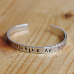 Bangle - Yn Fy Nghalon Am Byth-Jewellery-The Welsh Gift Shop
