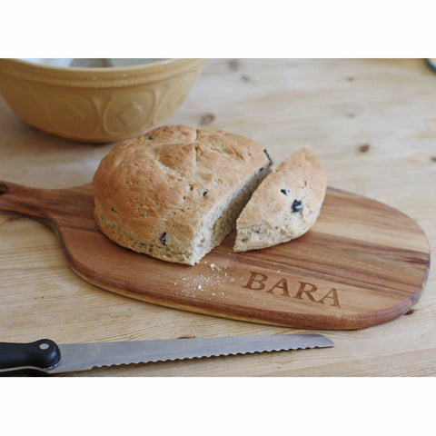 Chopping Board - Bara - Bread - Wood