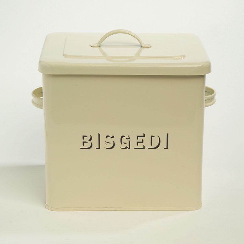 Bisgedi / Biscuit Tin - Vintage Style-The Welsh Gift Shop