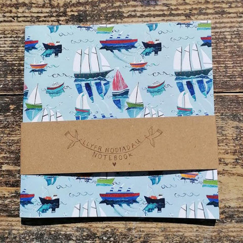 Notebook - Childrens - Blank - Boats