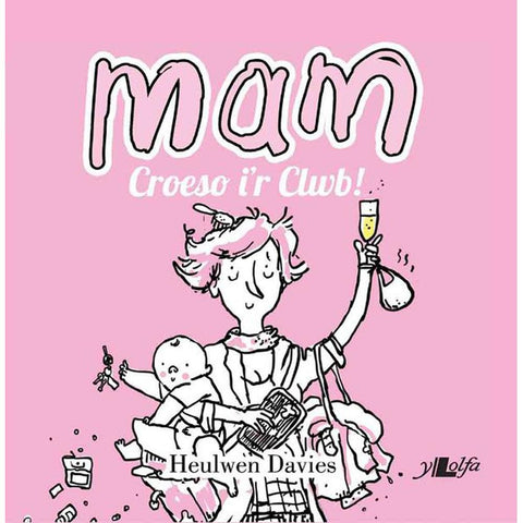 Mam: Croeso i'r Clwb! Book for New Mams-The Welsh Gift Shop