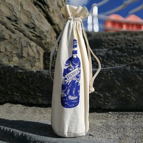 Bottle Gift Bag - Cheers! Iechyd Da!-The Welsh Gift Shop