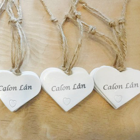 Heart Decoration - Calon Lan / Pure Heart-Accessory-The Welsh Gift Shop