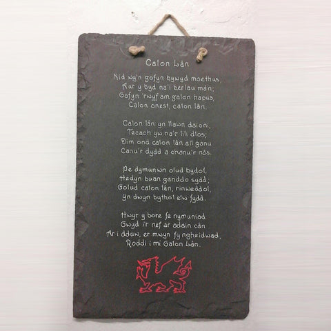 Plaque / Sign - Welsh Slate - Personalised-Picture / SIgn-The Welsh Gift Shop