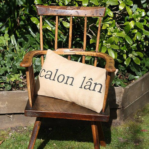 Cushion Cover - Welsh - Calon Lân