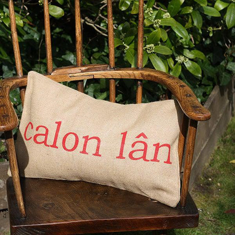 Cushion - Welsh - Calon Lân