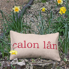 Cushion Cover - Welsh - Calon Lân-Pillow-The Welsh Gift Shop