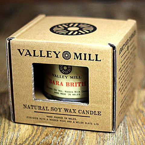 Soy Candle & Coaster - Handmade in Wales - Bara Brith