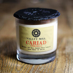 Soy Candle & Coaster - Handmade - Cariad-Candle-The Welsh Gift Shop