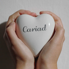 Trinket Box - Heart - Cariad - Love