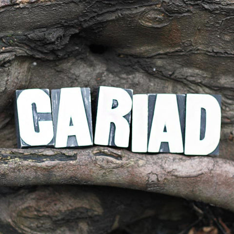 Cariad - Letterpress - Wooden Blocks