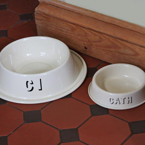 Pet Bowl - Welsh - Cat / Dog - Cath / Ci