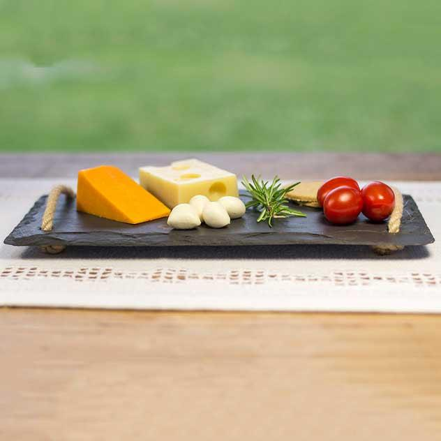 Cheese Board - Welsh Slate - Small-Kitchen-The Welsh Gift Shop