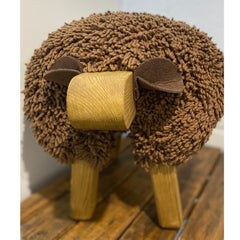Gift Voucher - Foot Rest - Welsh Sheep (Delivery in 3 Weeks)